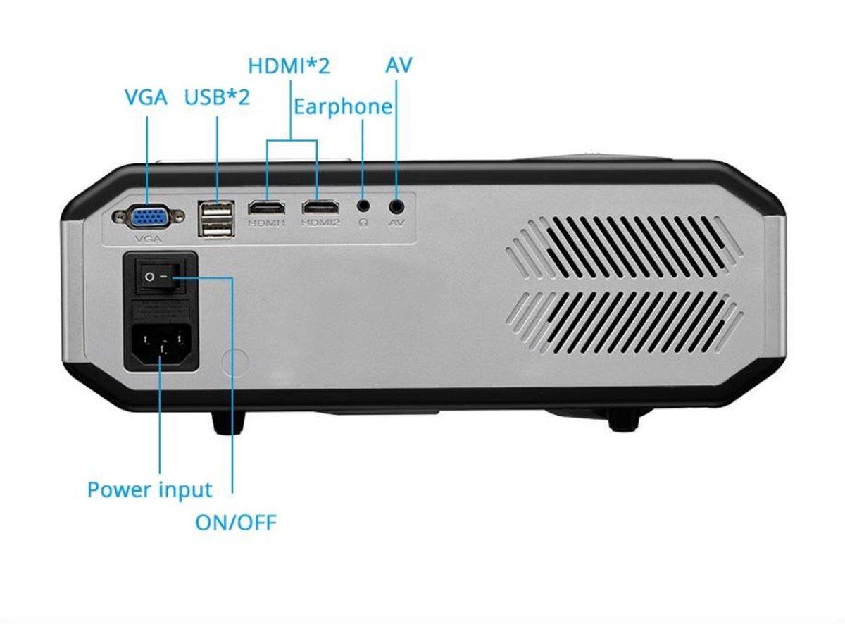 bol.com | YubiX LP3200A Android 4.4.4 WiFi LED Beamer HD