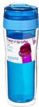 Sistema To Go Twist 'n Sip Coffee - isoleerbeker 490ml - blauw