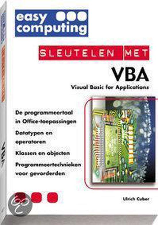 Cover van het boek 'Sleutelen met VBA'