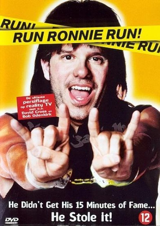 Cover van de film 'Run Ronnie Run'
