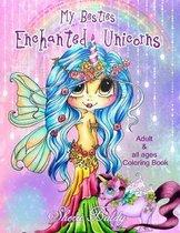 Sherri Baldy My-Besties Enchanted Unicorn Coloring Book