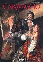 Caravaggio Hc01. met degen en palet