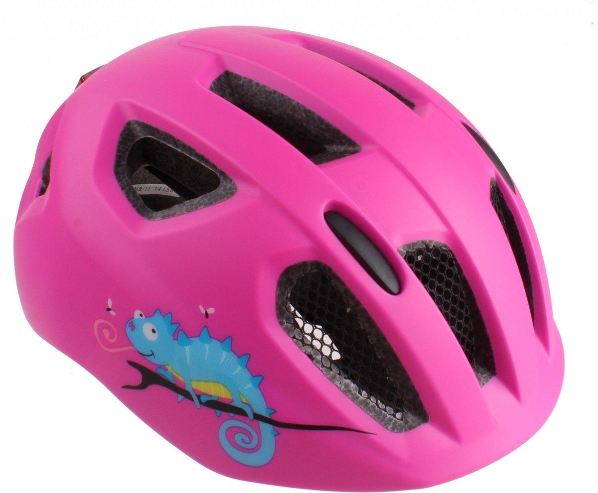 Cycle Tech Kinderhelm Inmold Nova Junior 54-58 Cm Roze
