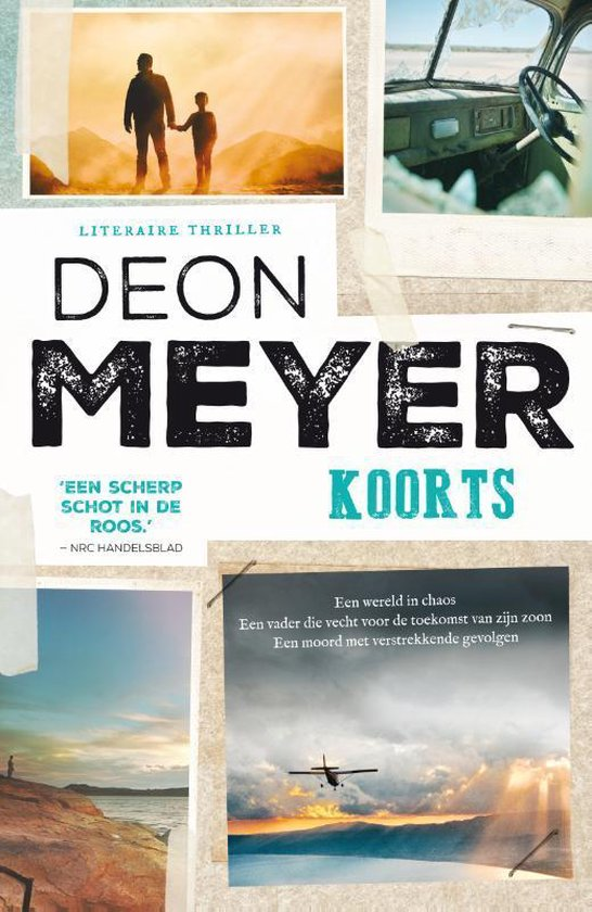 Boek cover Koorts van Deon Meyer (Paperback)