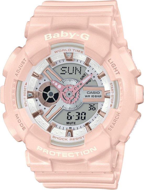 Casio Baby-G Dames Horloge BA-110RG-4AER