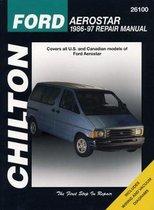 Ford Aerostar (86 - 97) (Chilton)