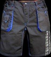 TERRAX WORKWEAR Werkbroek shorts zwart maat 48