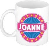 Joanne naam koffie mok / beker 300 ml  - namen mokken