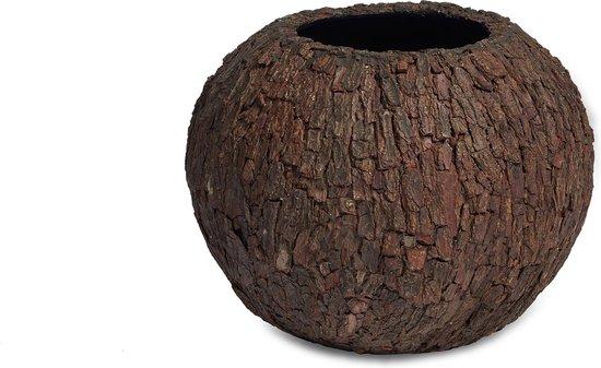 Plantinum Bosco Round Bowl Bark