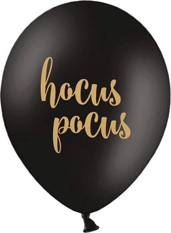Ballonnen Hocus Pocus zwart 50 stuks