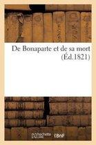 De Bonaparte et de sa mort