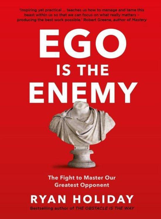 Boek cover Ego is the Enemy van Ryan Holiday (Paperback)