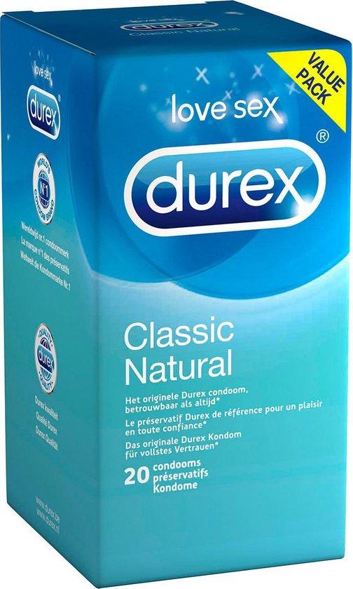 Durex Condooms Classic Natural - 20 stuks