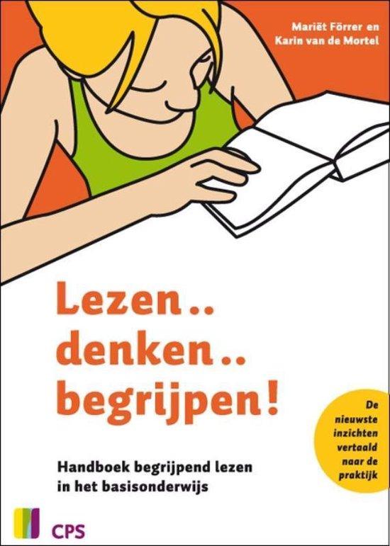 Boek cover Lezen...denken...begrijpen! van Mariet Forrer (Paperback)