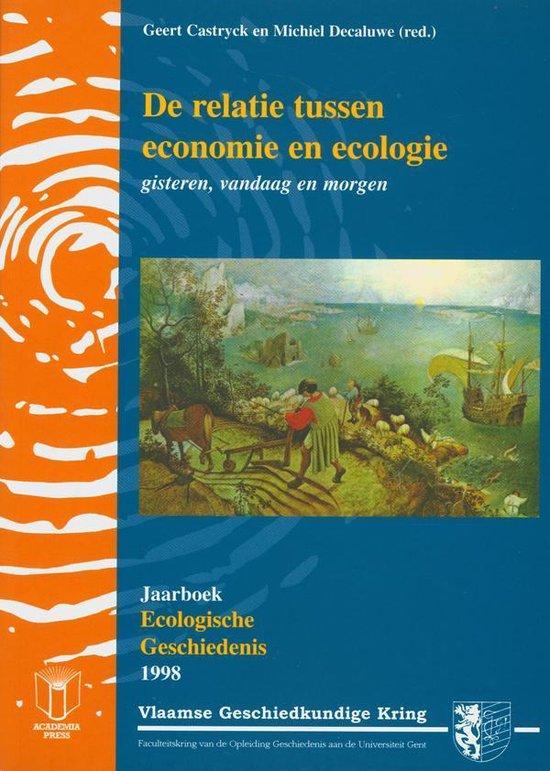Jaarboek voor ecologische geschiedenis 1998 - Michiel Decaluwe | Readingchampions.org.uk