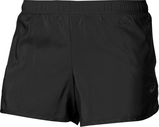 Asics 3,5 Inch Sportshort Dames Hardloopbroek - Maat XL  - Vrouwen - zwart