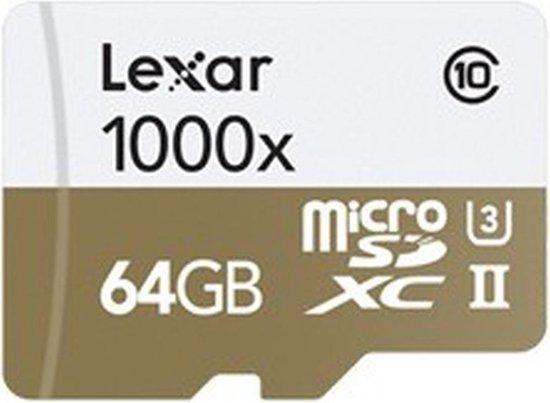 Lexar microSDXC Professional UHS-II 1000x 64GB
