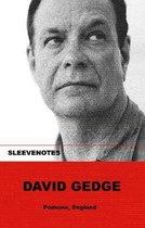 Boek cover Sleevenotes van David Gedge