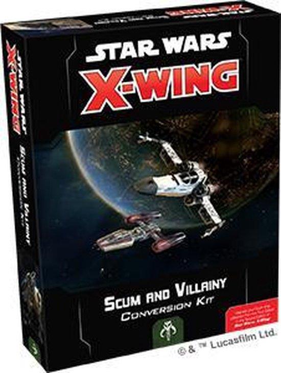 Afbeelding van het spel Star Wars X-wing 2.0 Scum and Villainy Conversion Kit - Miniatuurspel