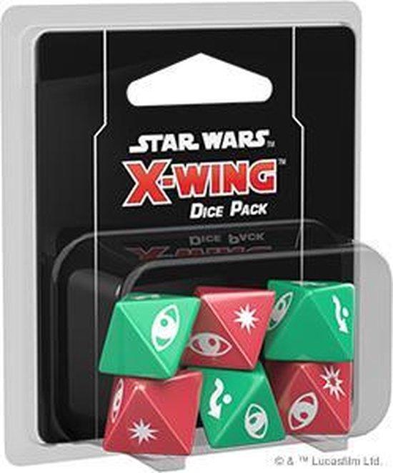 Afbeelding van het spel Star Wars X-wing 2.0 Dice Pack - Miniatuurspel