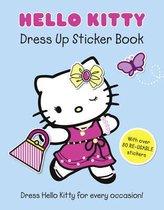 Boek cover Hello Kitty Dress Up Sticker Book (Hello Kitty) van Onbekend (Paperback)
