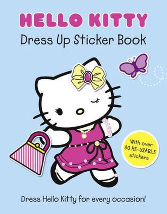 Boek cover Hello Kitty Dress Up Sticker Book (Hello Kitty) van Onbekend (Paperback)