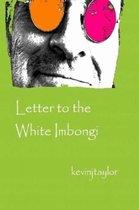 Letter to the White Imbongi