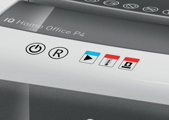 Leitz Papiervernietiger IQ Slim P4 - Versnipperaar Voor Papier - 23L opvangbak - Ideaal Voor Thuiskantoor