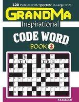 GRANDMA Inspirational CODE WORD Book