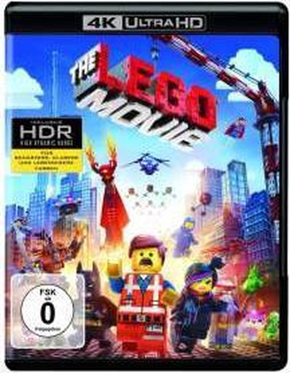 The LEGO Movie (4K Ultra HD Blu-ray) (Import)-