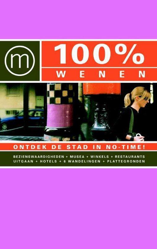 Cover van het boek '100% Wenen' van W. Pronk en Wouter Pronk