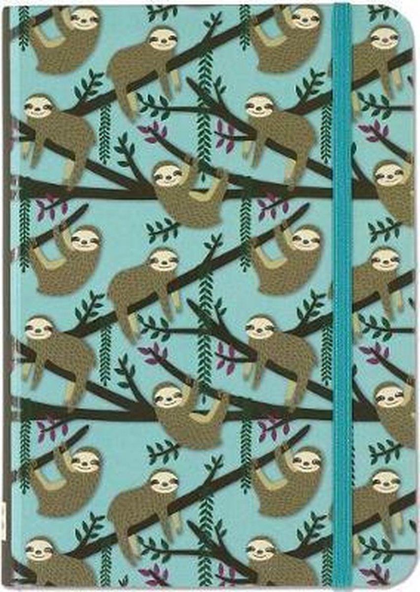 Peter Pauper Notitieboekje - Sloths Blue (small)