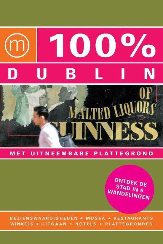 Cover van het boek '100% / Dublin + stadsplattegrond' van Dominique Lenferink