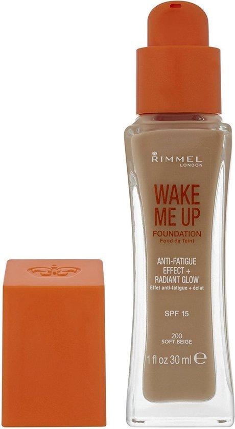 Rimmel Wake Me Up Foundation - 200 Soft Beige