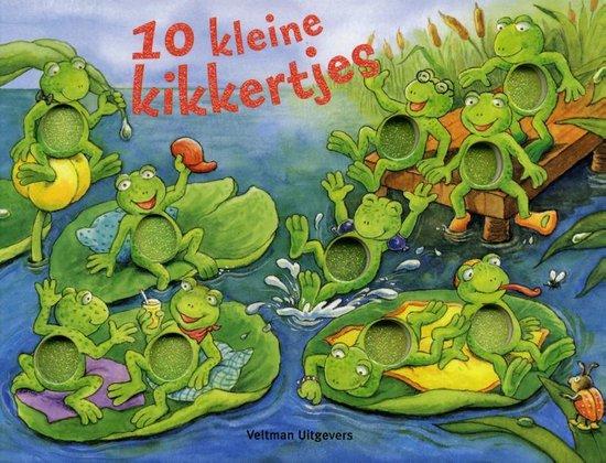 Cover van het boek '10 kleine kikkertjes' van P. Mennen