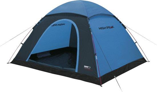 High Peak Monodome XL - Koepeltent - 4-Persoons - Blauw