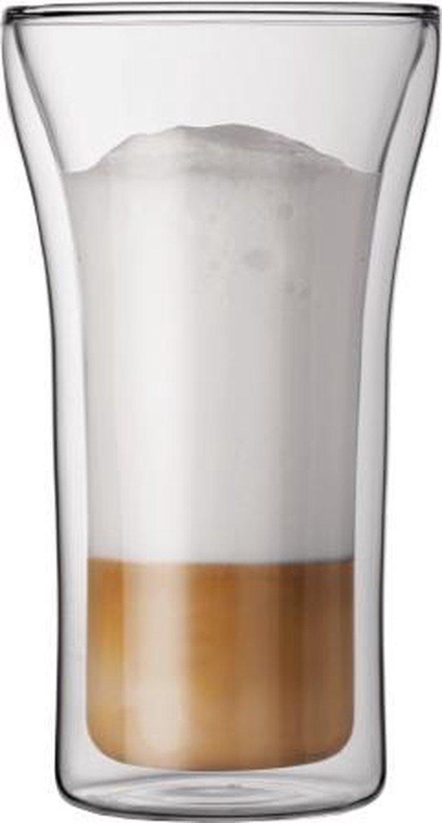Bodum Assam Dubbelwandig Glas - 0.4 l - 2 stuks - Bodum
