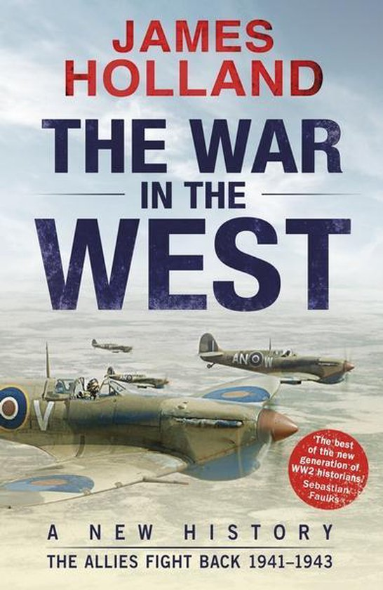 Boek cover War in the West: the Fall of Germany van James Holland (Paperback)