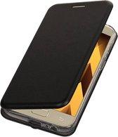 BestCases.nl Zwart Premium Folio leder look booktype smartphone hoesje voor Samsung Galaxy A5 2017 A520