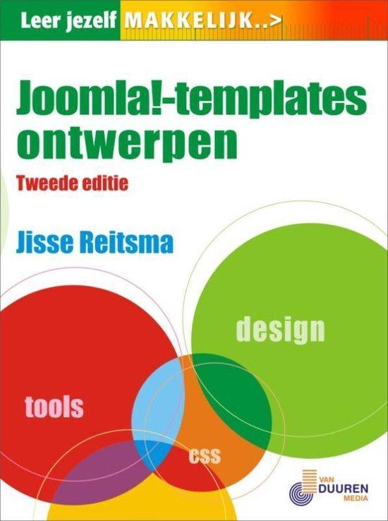 Cover van het boek 'LJM Joomla 1.5 Templates ontwerpen'