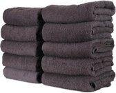 WT Trading Handdoek - Antraciet - 3 Stuks - 70x140cm