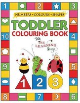 My Numbers, Colours and Shapes Toddler Colouring Book with The Learning Bugs