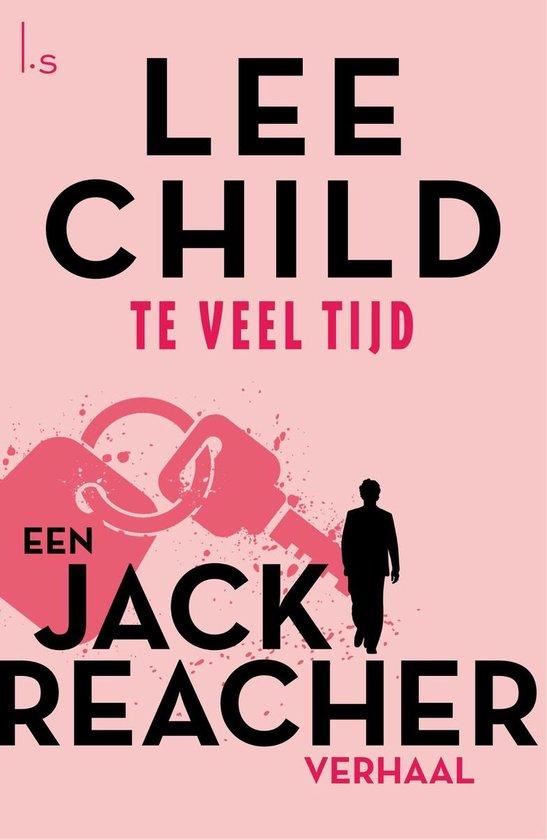 Boekomslag voor Jack Reacher - Te veel tijd