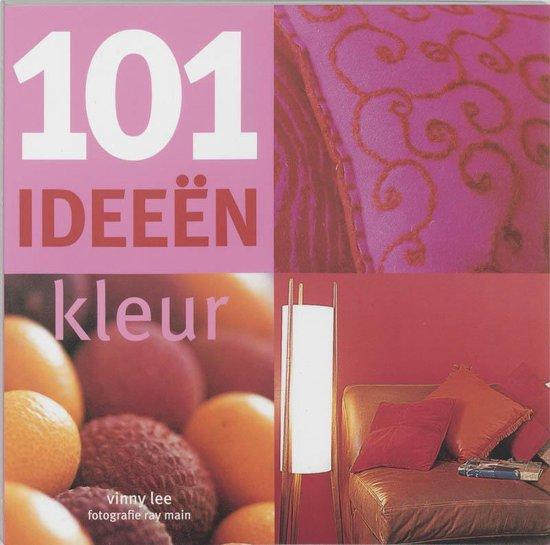 Cover van het boek '101 ideeen kleur' van Vinny Lee