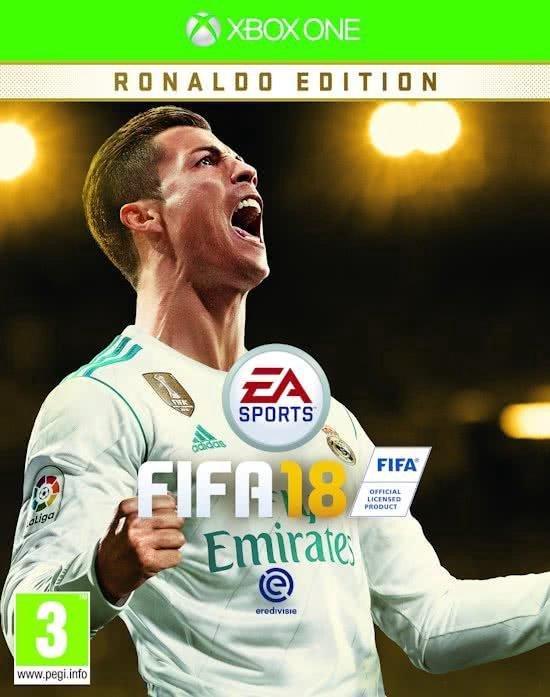 Fifa 18 Ronaldo Edition /Xbox One (DLC EXPIRE CONSIDER AS STANDARD)