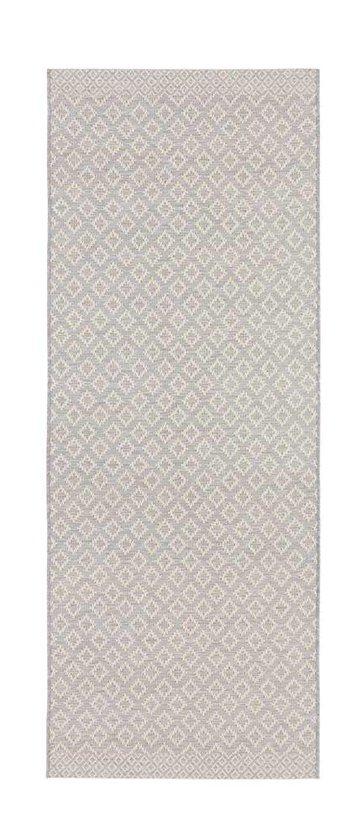 Modern vloerkleed ruiten Avenue - grijs 130x190 cm