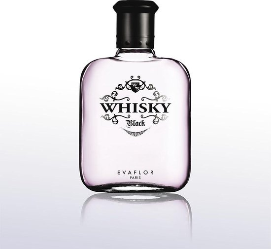 Whisky Black, kruidige heren parfum 100 ml.