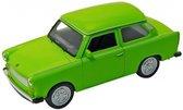 Goki Metalen auto: trabant 601 groen