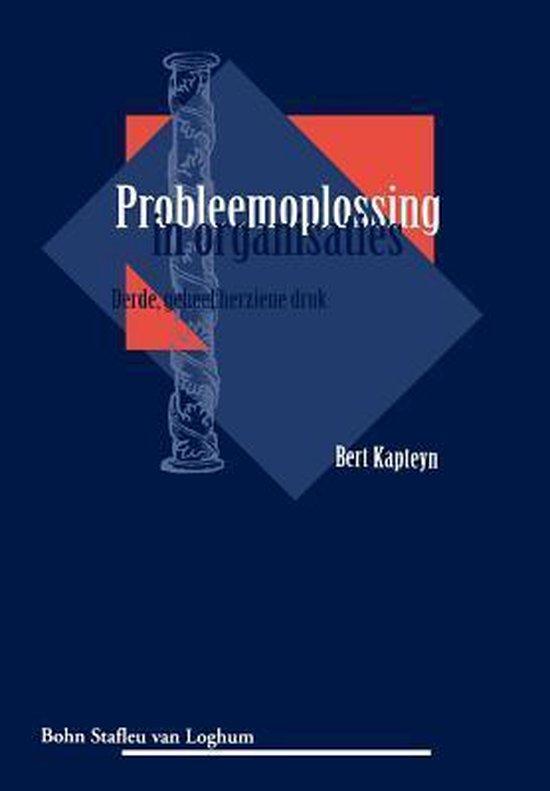 Probleemoplossing in organisaties - B. Kapteyn | Readingchampions.org.uk