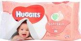 Huggies Babydoekjes - Soft Skin 56 stuks
